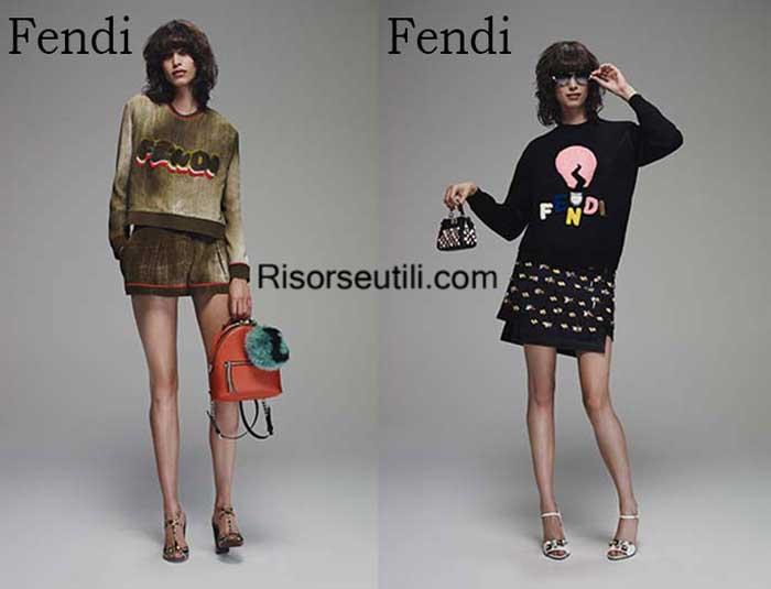 Fashion brand Fendi spring summer 2016 women