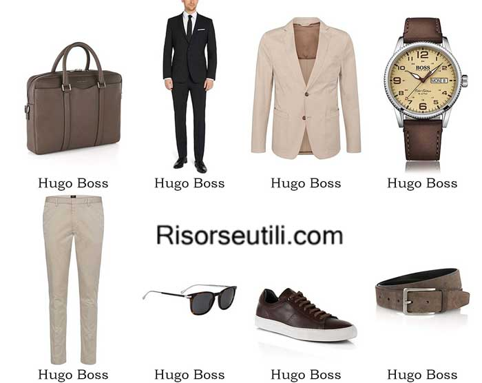 Fashion clothing Hugo Boss spring summer 2016 men
