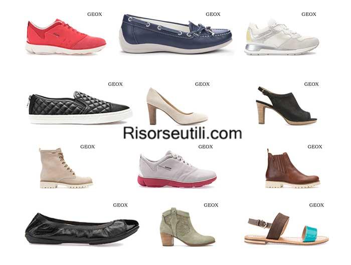 Shoes Geox spring summer 2016 womenswear