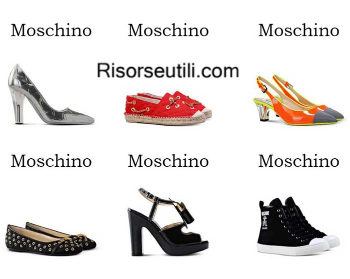 Shoes Moschino spring summer 2016 womenswear