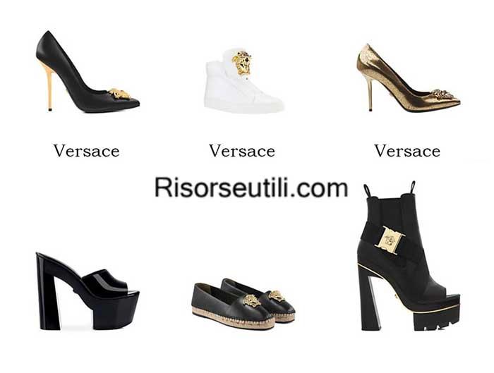 Shoes Versace spring summer 2016 womenswear