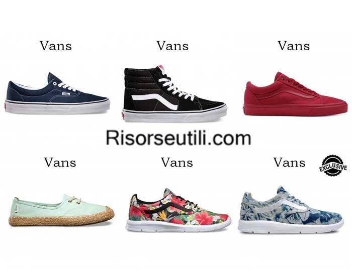 Sneakers Vans spring summer 2016 women shoes