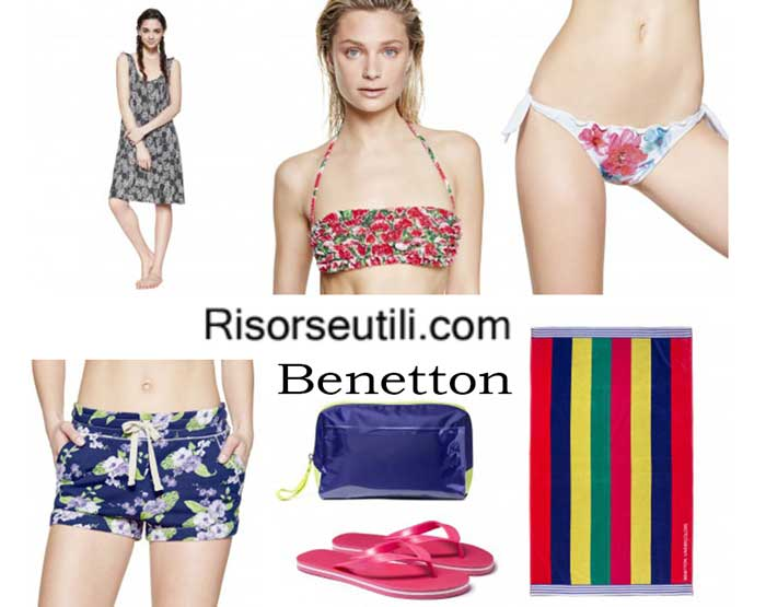 Swimwear Benetton spring summer 2016 womenswear bikini