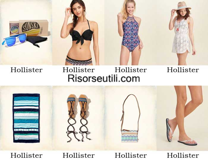 Swimwear Hollister spring summer 2016 womenswear