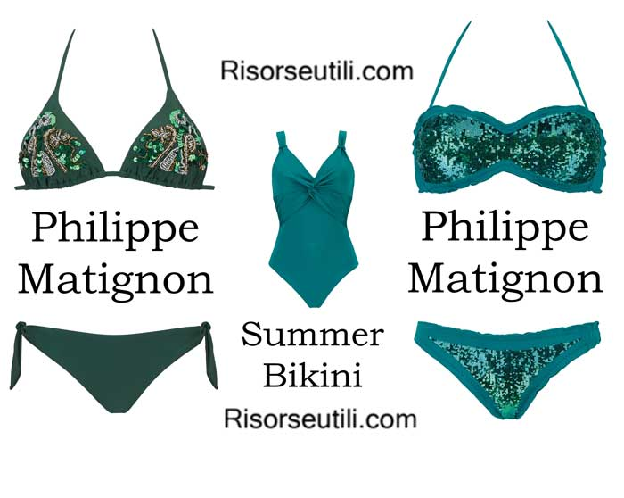 Swimwear Philippe Matignon spring summer 2016