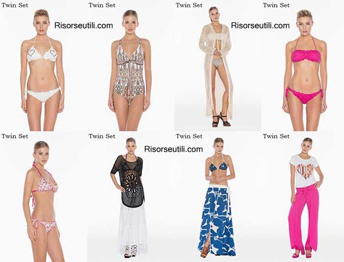 Swimwear Twin Set spring summer 2016 beachwear