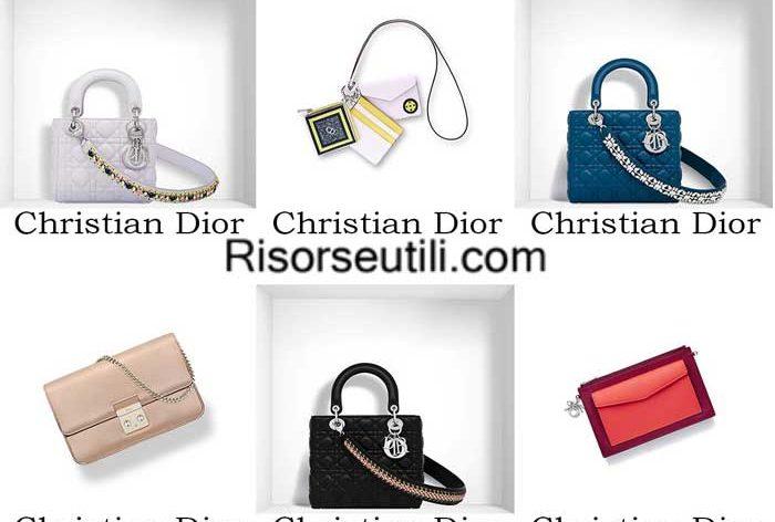 Bags Christian Dior spring summer 2016 womenswear handbags