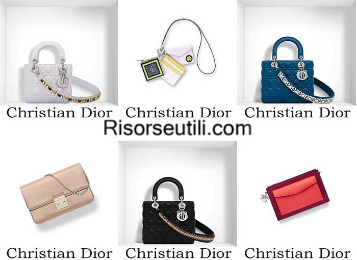 Bags Christian Dior spring summer 2016 womenswear