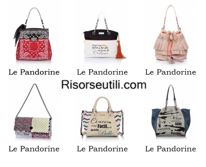 Bags Le Pandorine spring summer 2016 womenswear