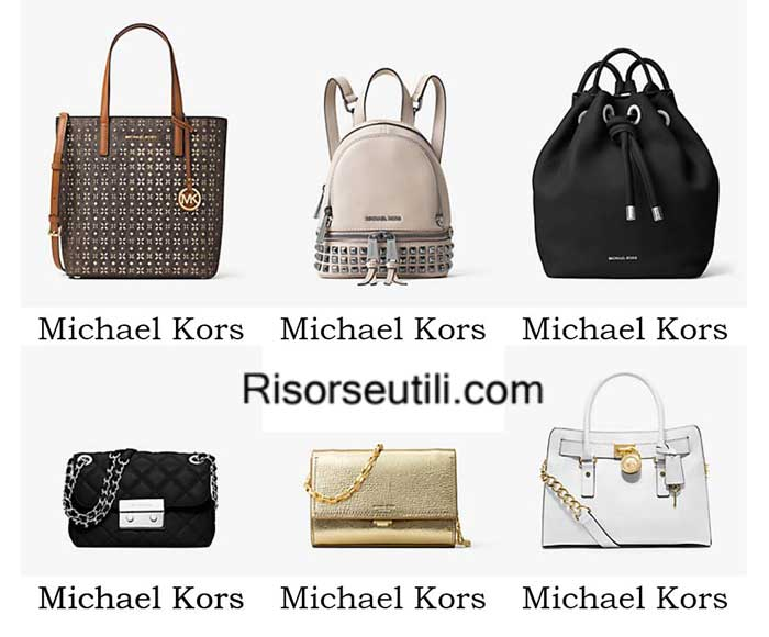 Bags Michael Kors spring summer 2016 womenswear