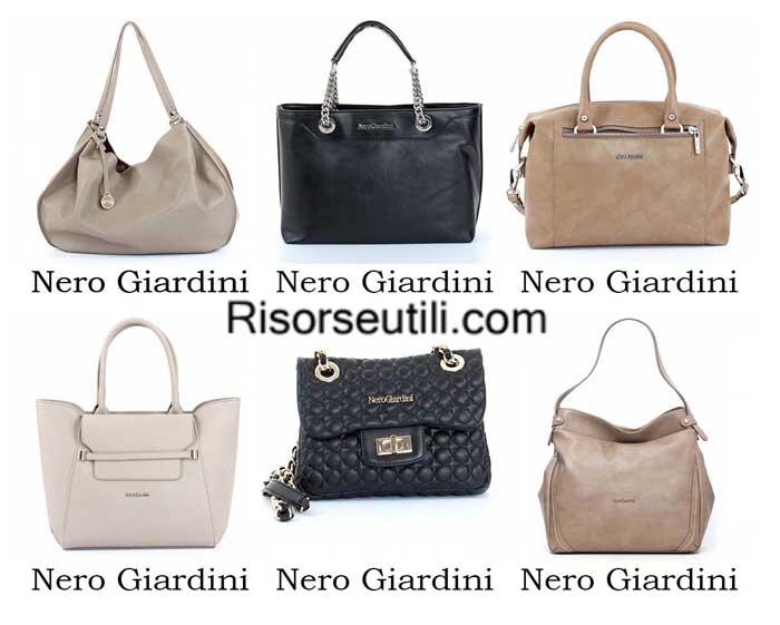 Bags Nero Giardini spring summer 2016 womenswear