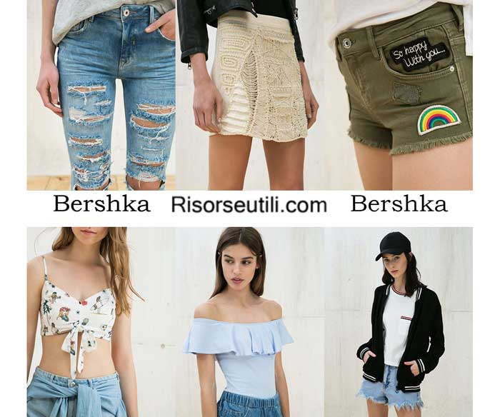 Fashion brand Bershka spring summer 2016 women