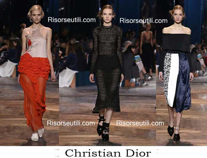 Fashion brand Christian Dior spring summer 2016 womenswear