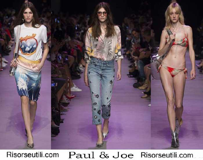 Fashion brand Paul Joe spring summer 2016 women