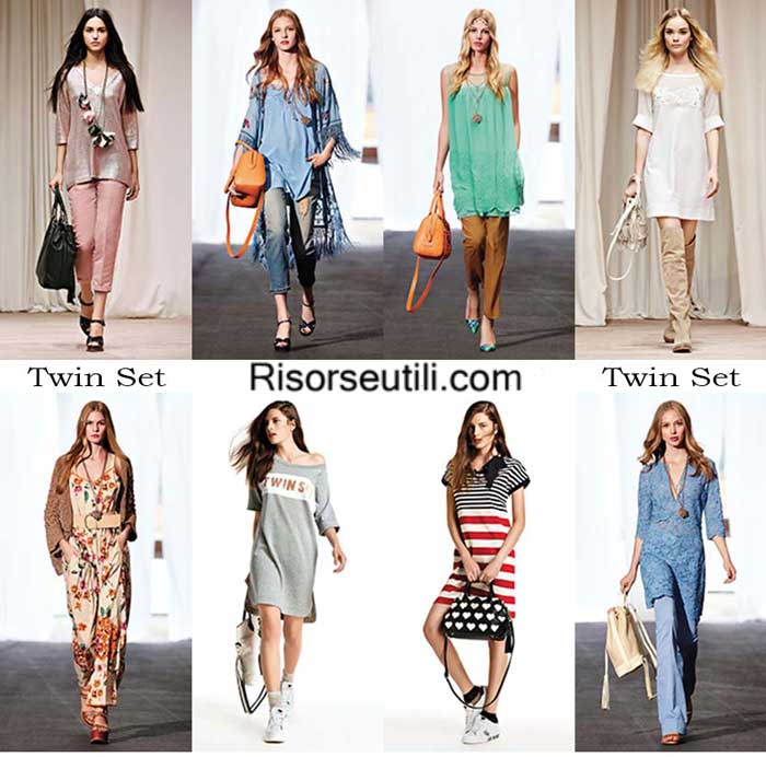 Fashion brand Twin Set spring summer 2016 women