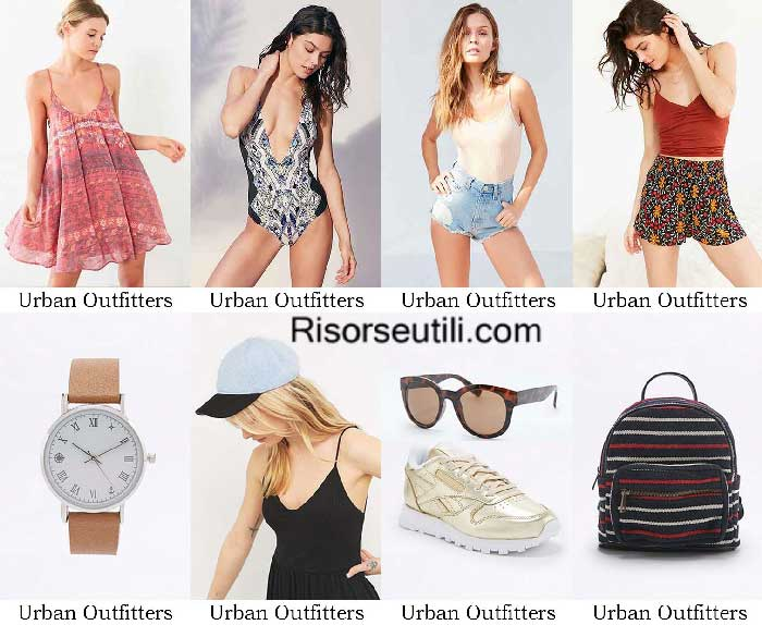 Fashion brand Urban Outfitters spring summer 2016 women