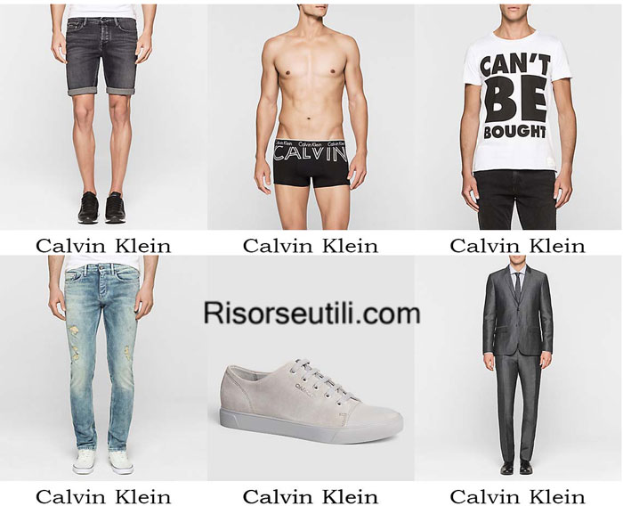 Fashion clothing Calvin Klein spring summer 2016 men