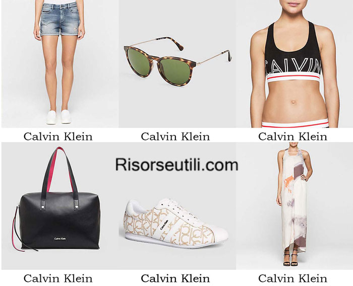 Fashion clothing Calvin Klein spring summer 2016 women