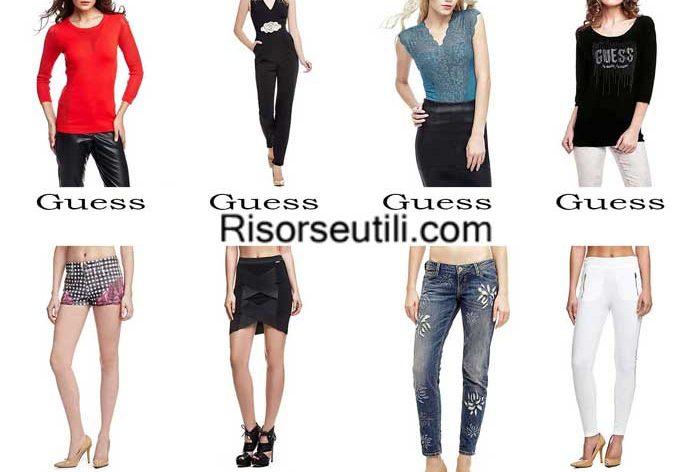 Fashion clothing Guess spring summer 2016 women