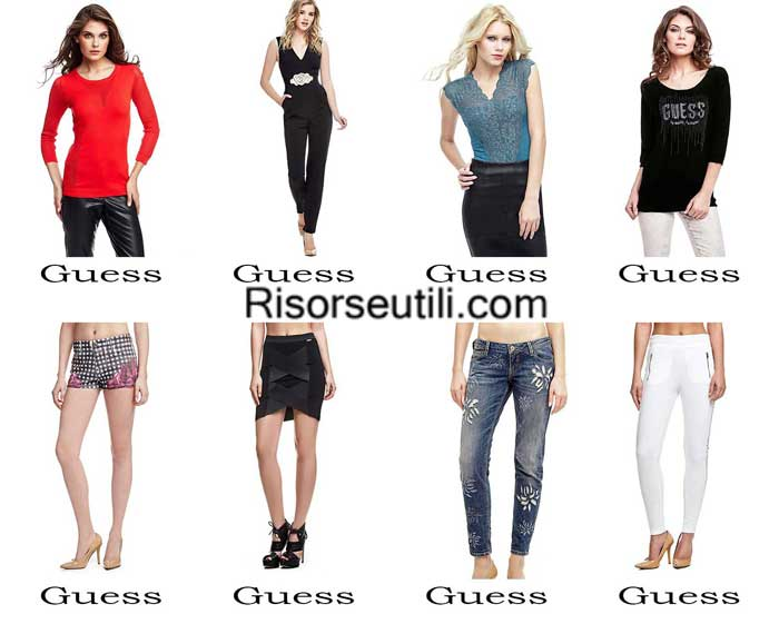Fashion clothing Guess spring summer 2016 women