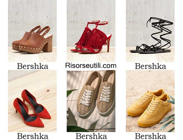 Shoes Bershka spring summer 2016 women footwear