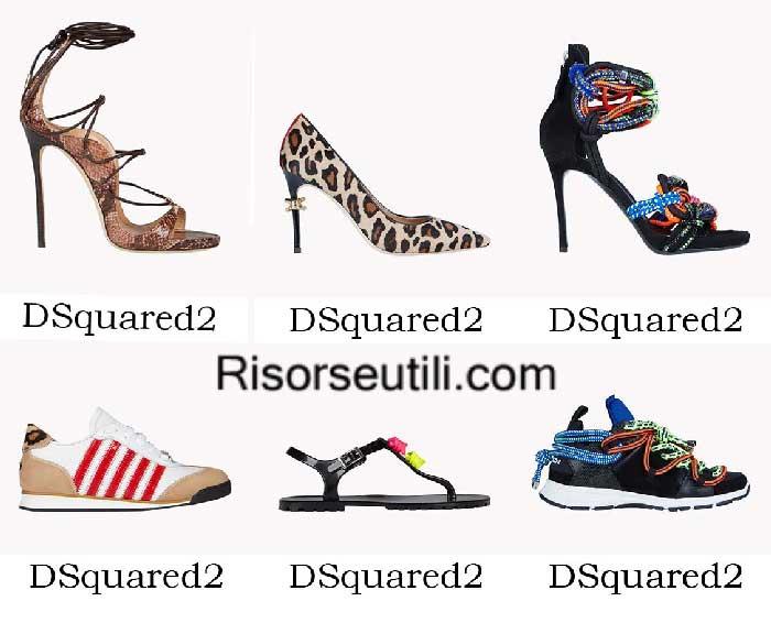 Shoes DSquared2 spring summer 2016 womenswear footwear