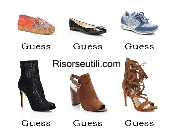 Shoes Guess spring summer 2016 women footwear