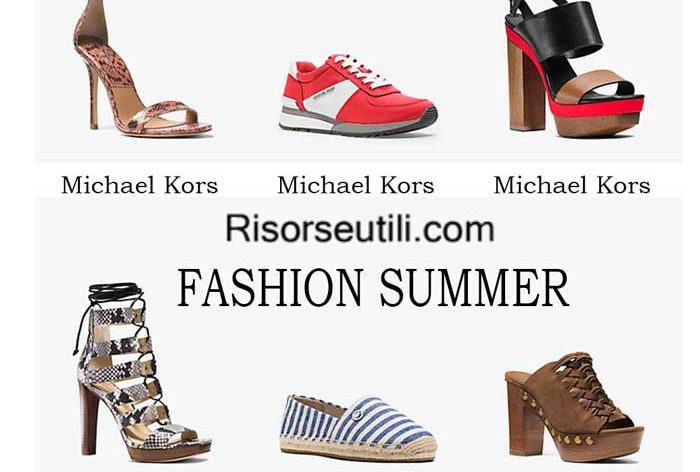 Shoes Michael Kors spring summer 2016 womenswear footwear