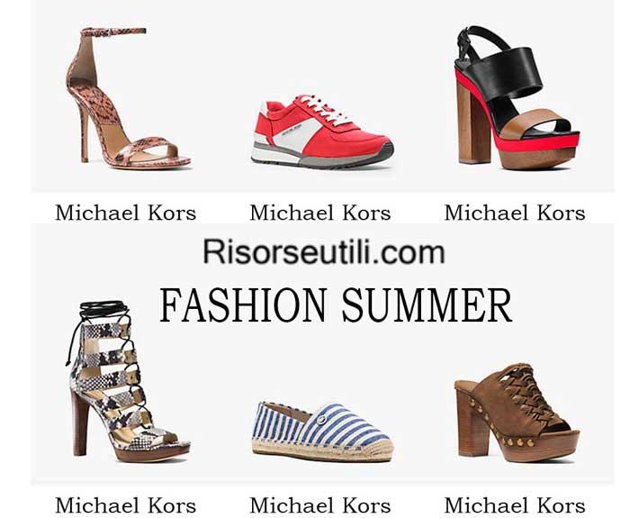 Shoes Michael Kors spring summer 2016 womenswear