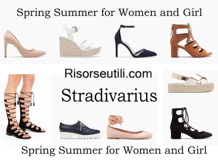 Shoes Stradivarius spring summer 2016 womenswear