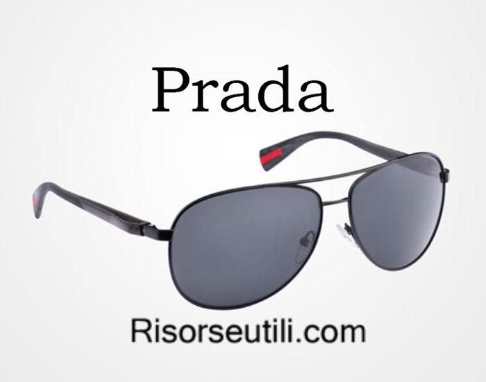 Sunglasses Prada spring summer 2016 menswear