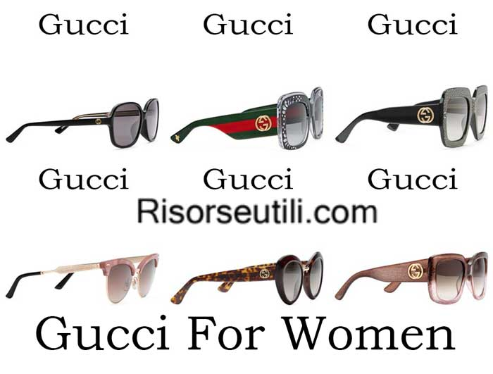 Sunglasses Gucci spring summer 2016 womenswear