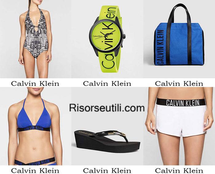 Swimwear Calvin Klein spring summer 2016 women