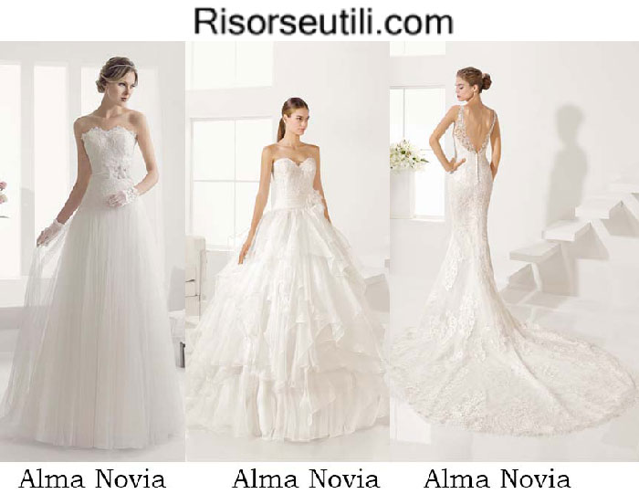 Bridal Alma Novia spring summer 2017 wedding