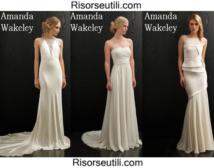Bridal Amanda Wakeley spring summer 2016 wedding