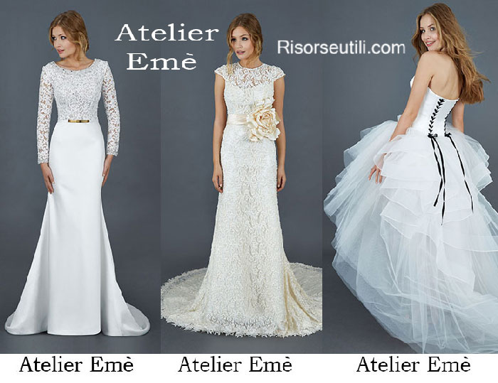 Bridal Atelier Emè spring summer 2016 wedding