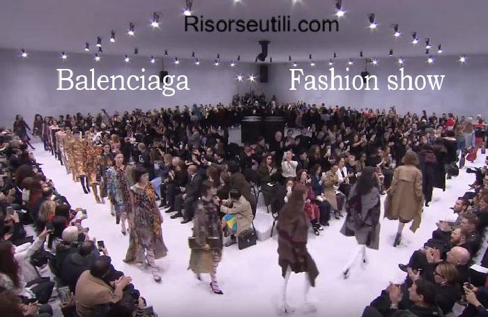 Fashion show Balenciaga fall winter 2016 2017 womenswear