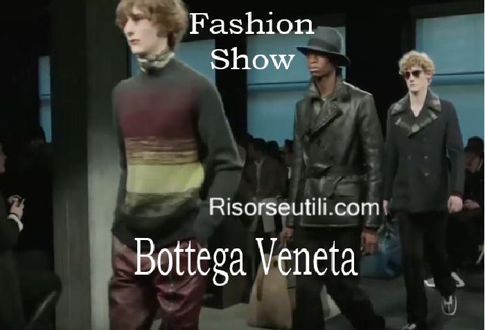 Fashion show Bottega Veneta fall winter 2016 2017 menswear