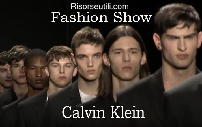 Fashion show Calvin Klein fall winter 2016 2017 menswear
