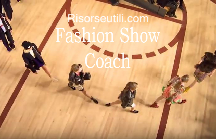 Fashion show Coach fall winter 2016 2017 womenswear