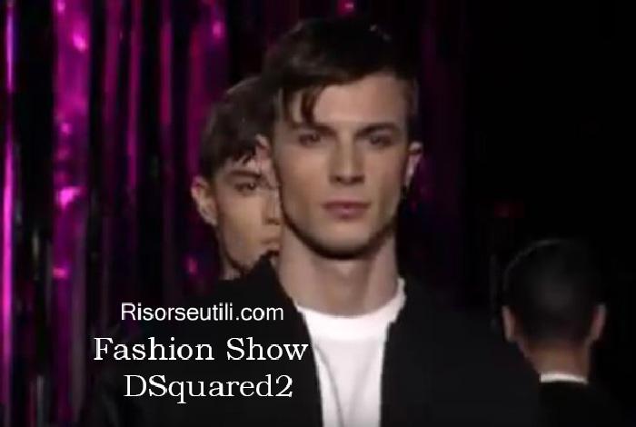 Fashion show DSquared2 fall winter 2016 2017 menswear