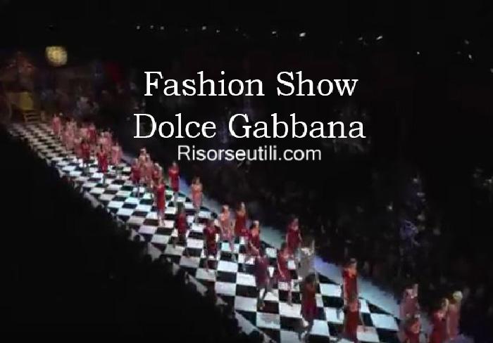 Fashion show Dolce Gabbana fall winter 2016 2017 womenswear