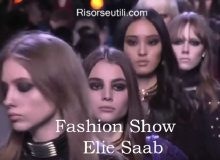 Fashion show Elie Saab fall winter 2016 2017 womenswear