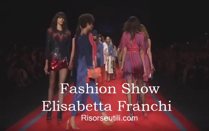 Fashion show Elisabetta Franchi fall winter 2016 2017 womenswear