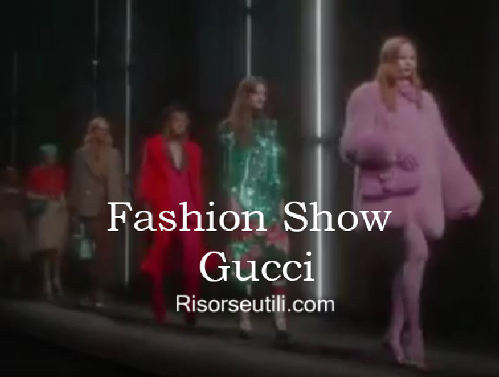 Fashion show Gucci fall winter 2016 2017 womenswear