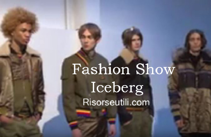 Fashion show Iceberg fall winter 2016 2017 menswear