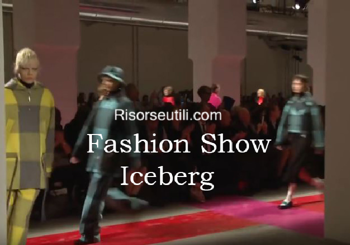 Fashion show Iceberg fall winter 2016 2017 womenswear