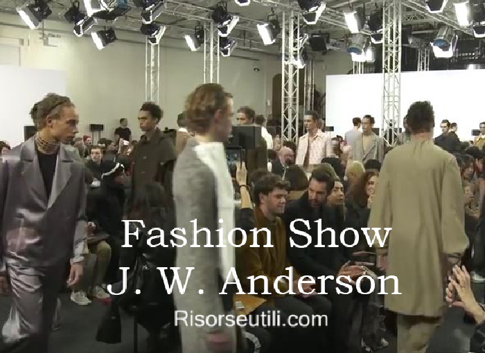 Fashion show J. W. Anderson fall winter 2016 2017 menswear