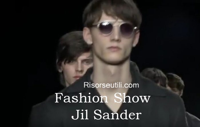 Fashion show Jil Sander fall winter 2016 2017 menswear