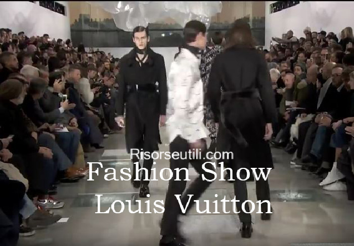 Fashion show Louis Vuitton fall winter 2016 2017 menswear